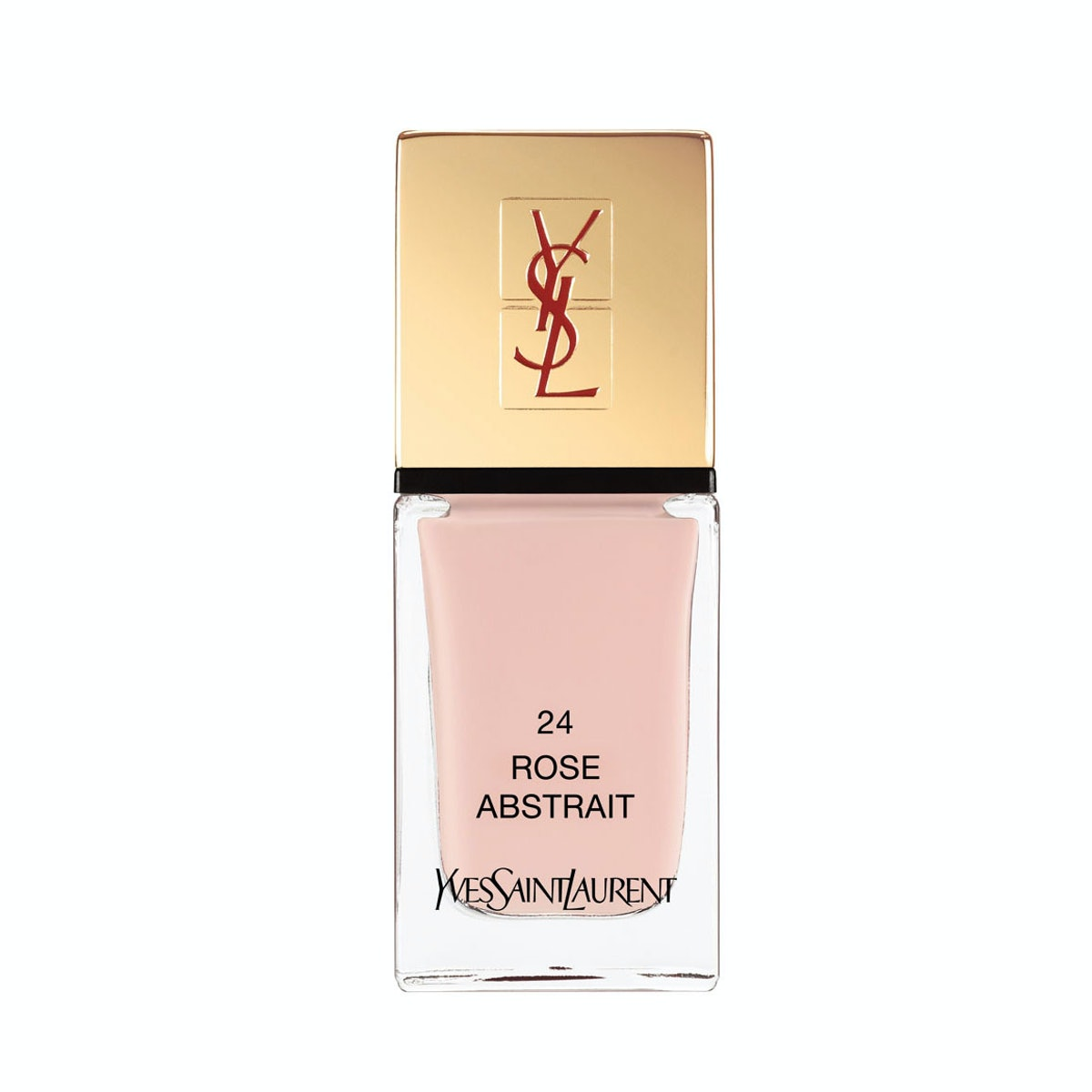 YSL La Laque Couture polish in No. 24 Rose Abstrait