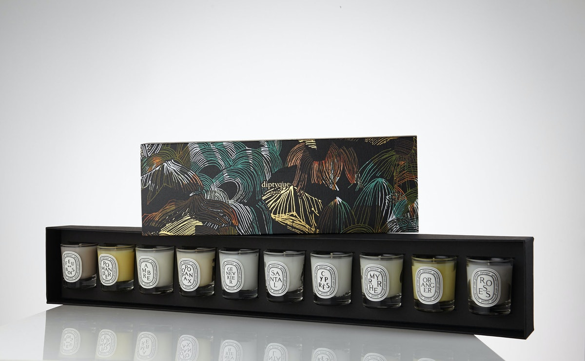 Diptyque 10 Candle Coffet