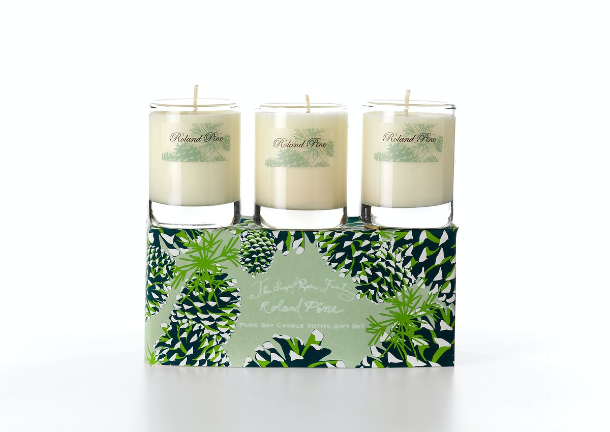 Soap and Paper Factory Three Votive Set