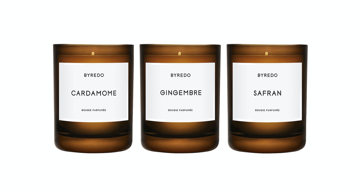 Byredo Amber Candle Collection