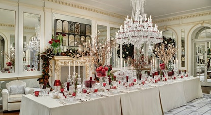 Baccarat decorates the New York Holiday House
