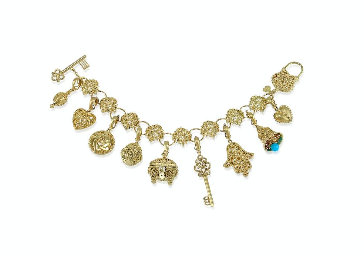 Cynthia Bach 18k yellow gold bracelet