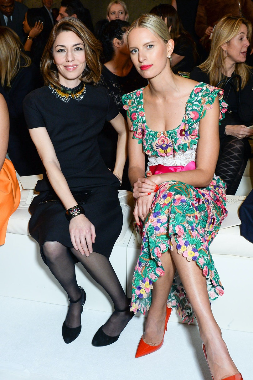 Sofia Coppola and Karolina Kurkova