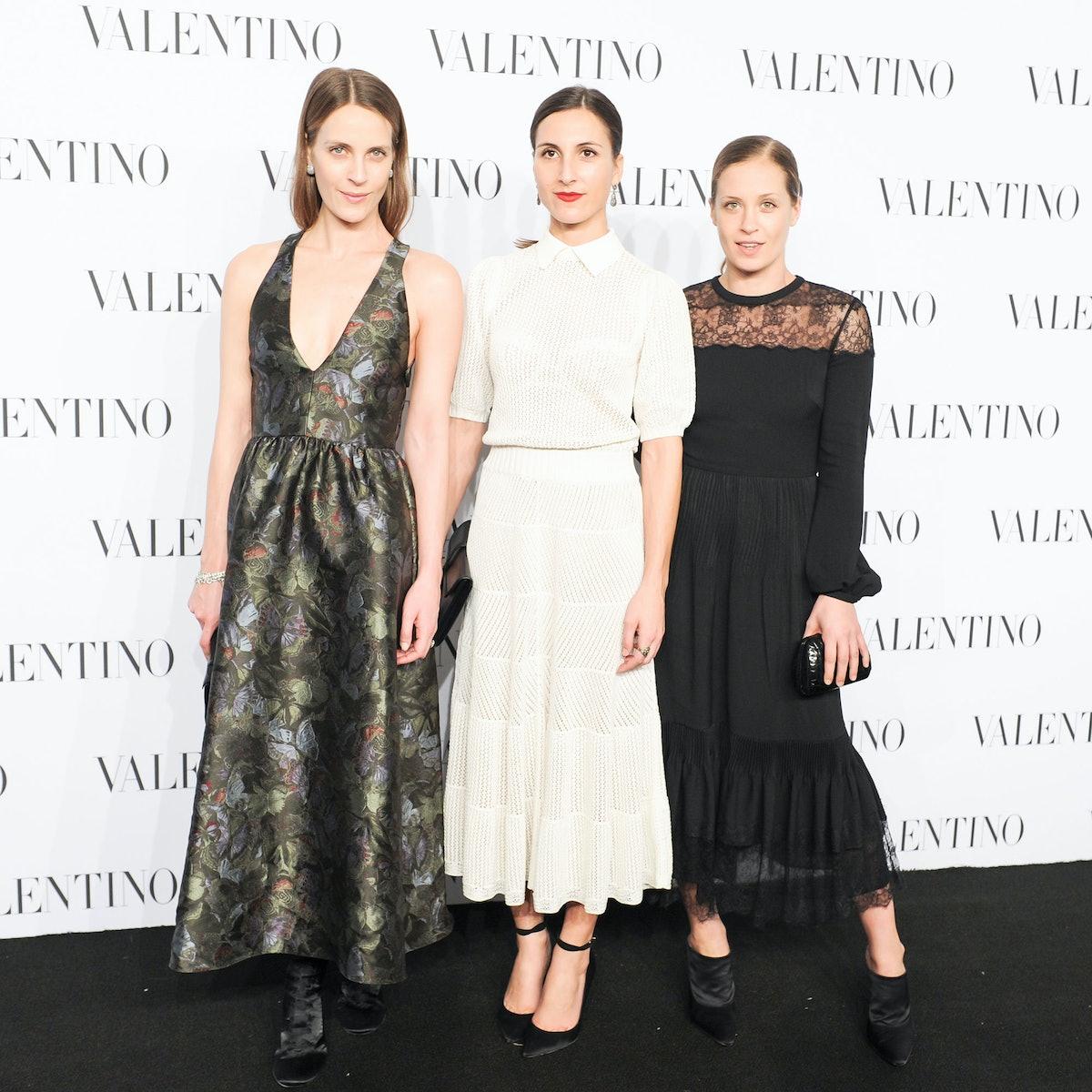 Vanessa Traina Snow, Samantha Traina, and Victoria Traina