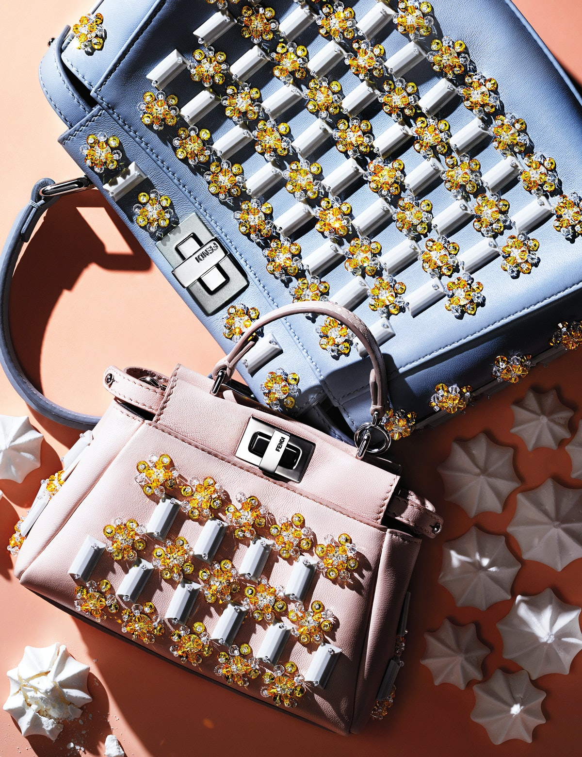 Candy Colored Accessories, Fendi bags