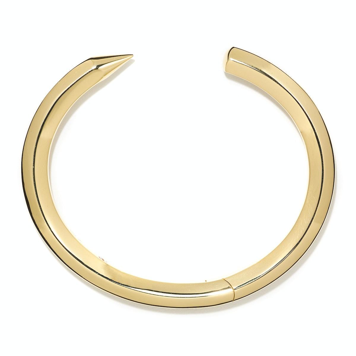 Coléoptère gold bracelet