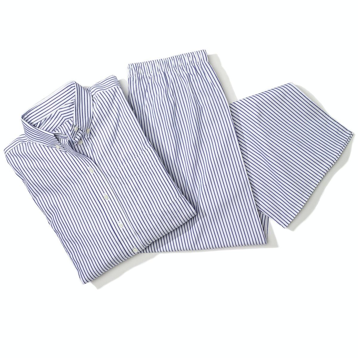 Claridge + King pajama shirt,