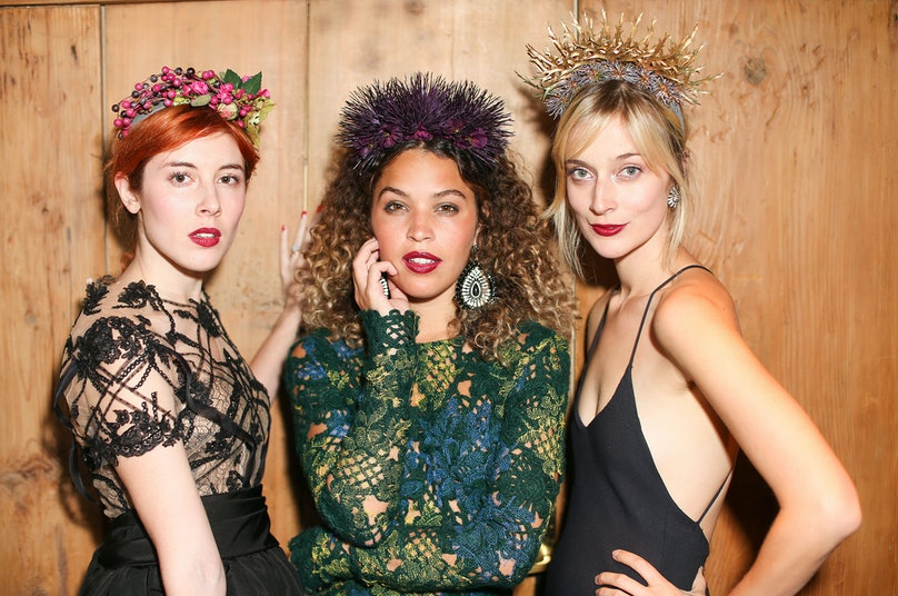 Paula Goldstein, Cleo Wade, and Caitlin Fitzgerald