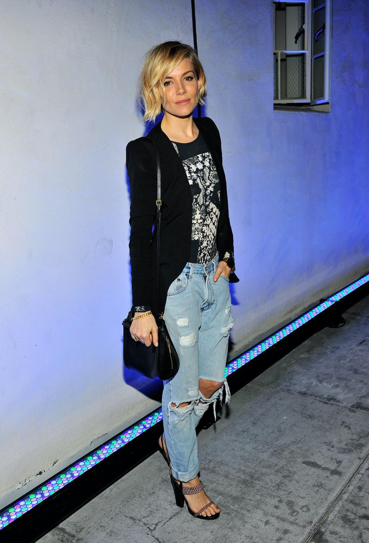 Sienna Miller Red Carpet Style