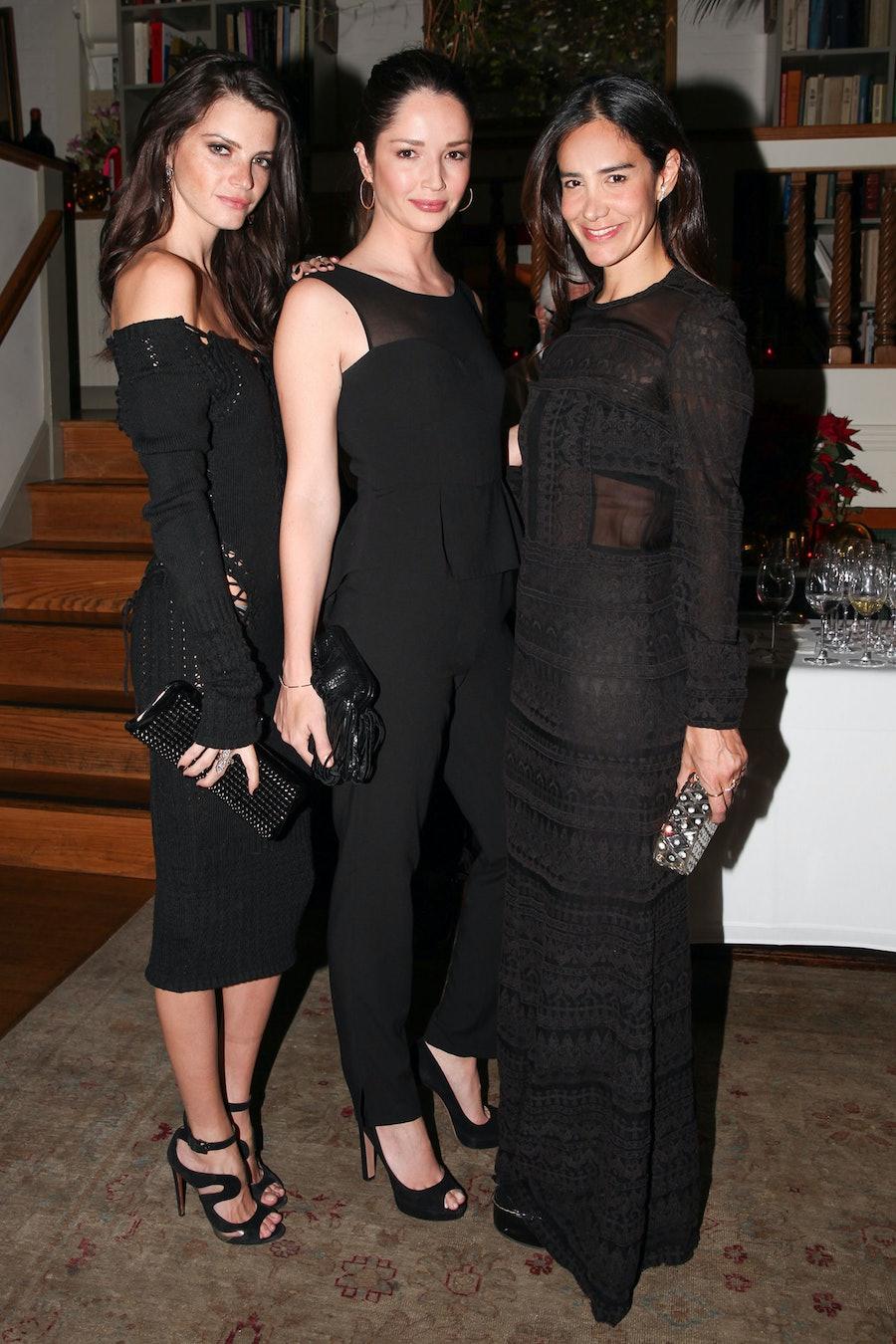 Jeisa Chiminazzo, Renata Maciel, and Ana Khouri