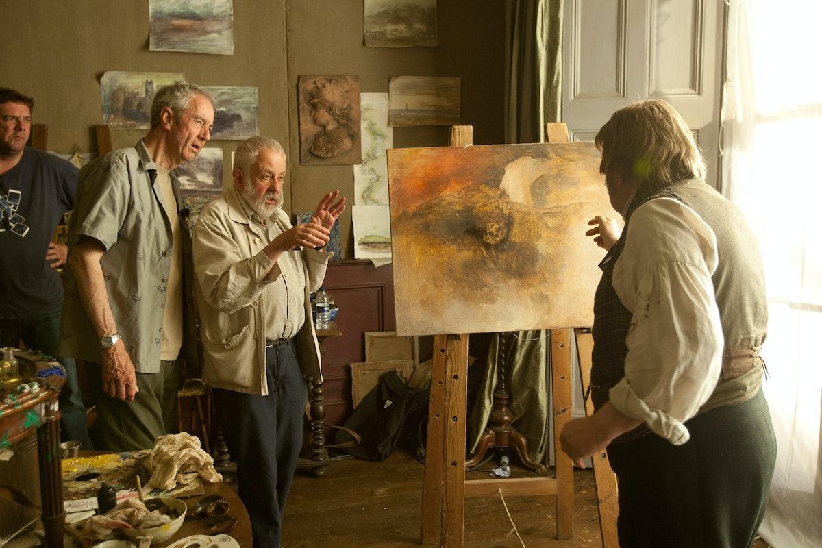 Mr. Turner On Set