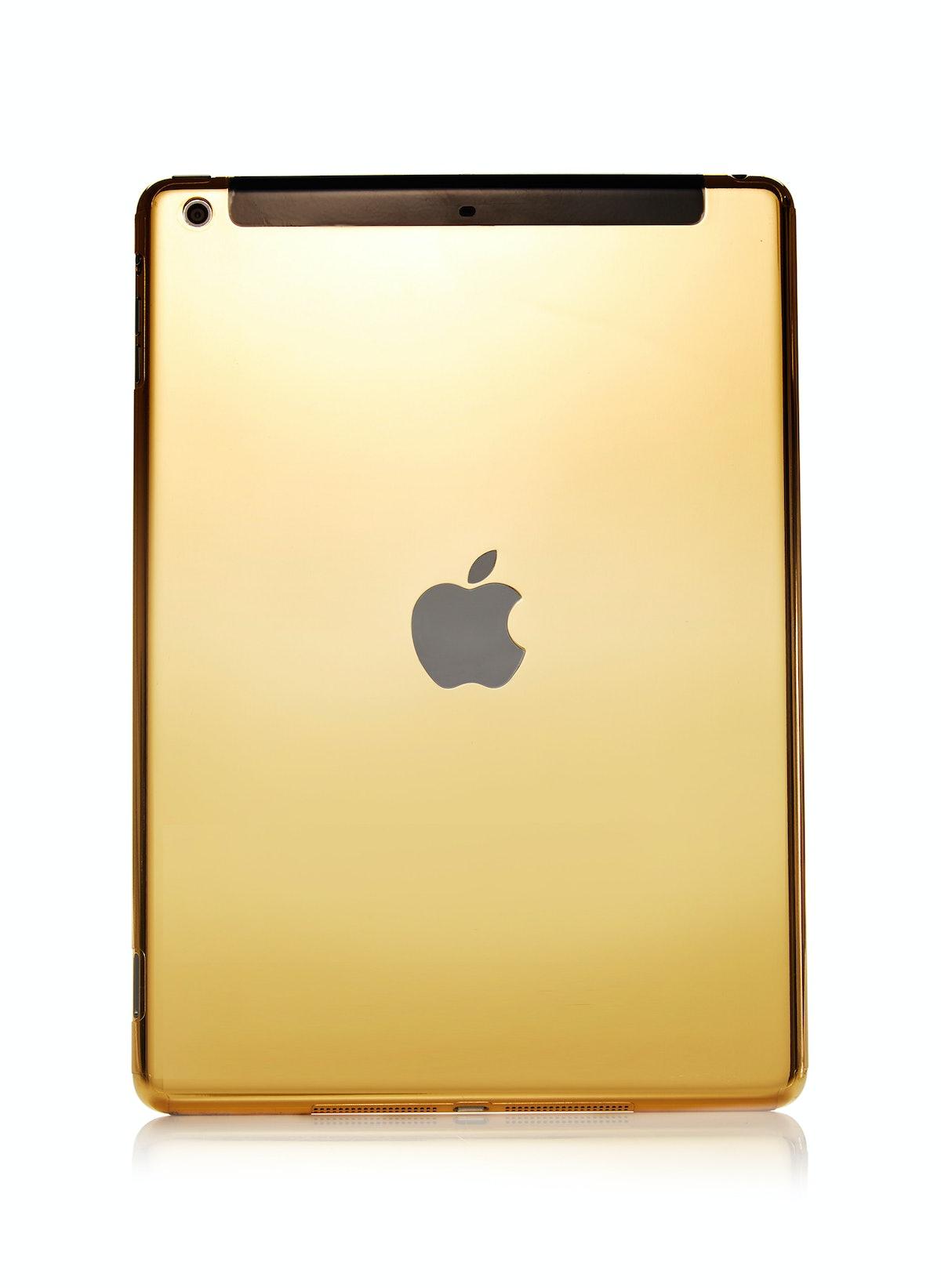 GoldGenie iPad in 24k gold