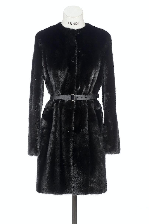 Fendi mink coat