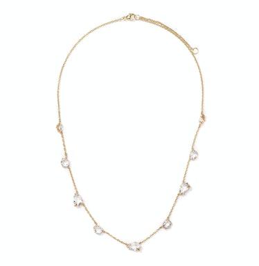 Alexis Bittar gold and quartz necklace