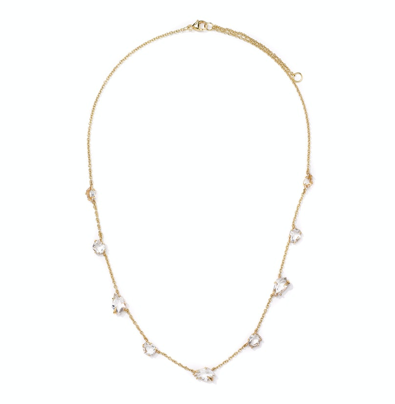 Alexis Bittar gold and quartz necklace