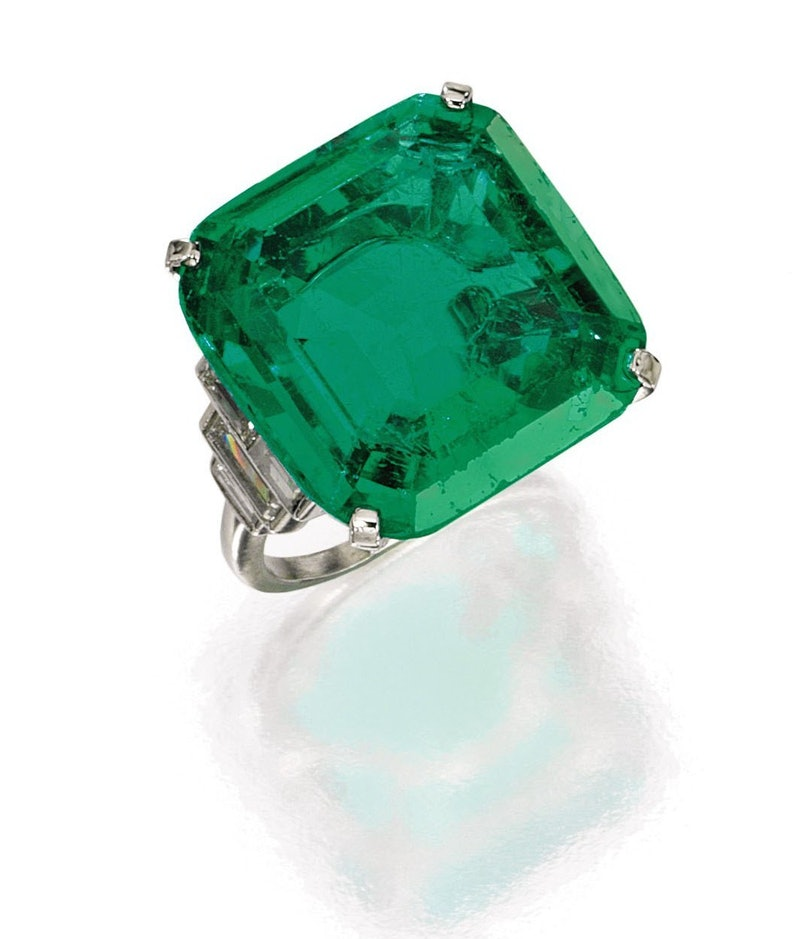 Brook Astor Emerald Ring