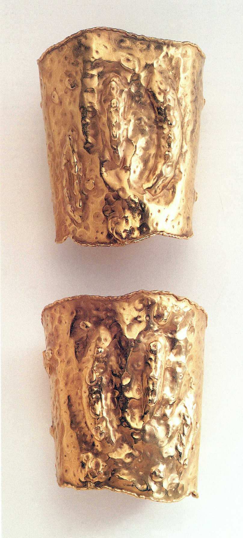 Gold Cuff Bangle-Bracelets, Greece from The Estate of Jacqueline Kennedy Onassis