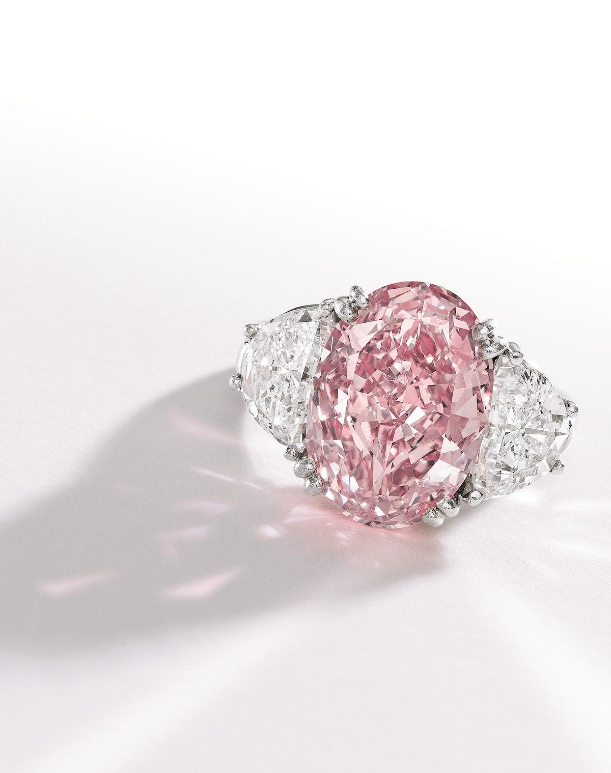 Heyman Pink Diamond Ring