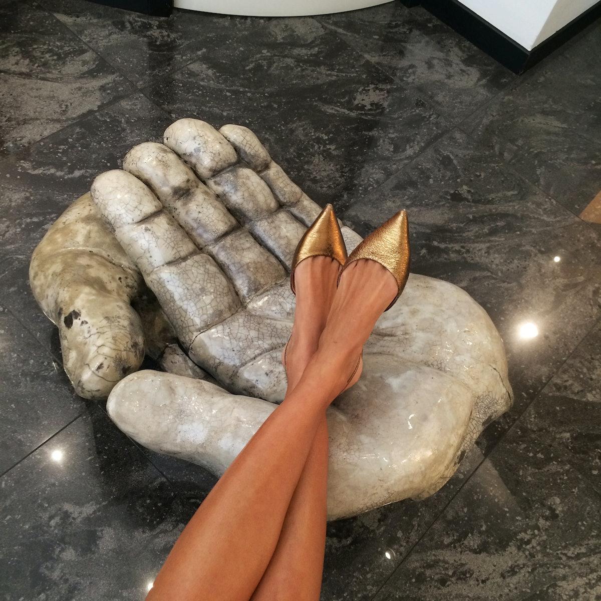 Giovanna Battaglia, Milan Fashion Week