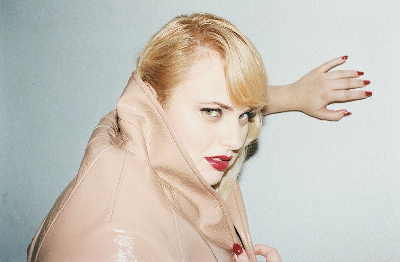 Rebel Wilson photographed by Juergen Teller, styled by Zoe Bedeaux; W Magazine February 2013