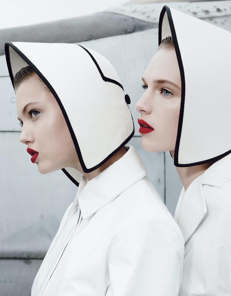 Photo by Emma Summerton, styled by Giovanna Battaglia; W Magazine November 2013