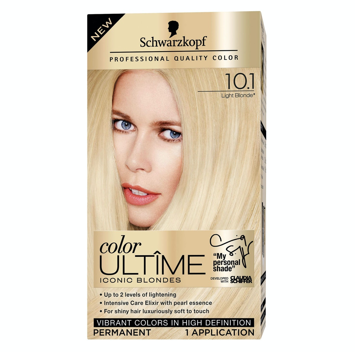 Claudia Schiffer's personal shade, available exclusively at Wal-Mart