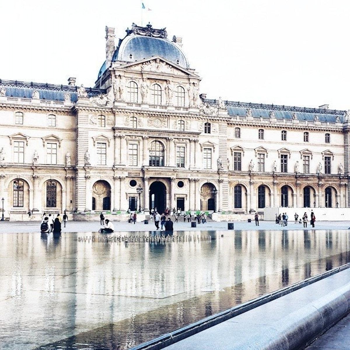 Musée du Louvre by jiwonrchoi