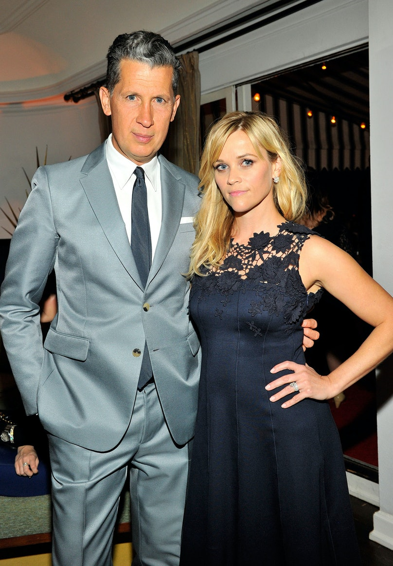 Stefano Tonchi and Reese Witherspoon