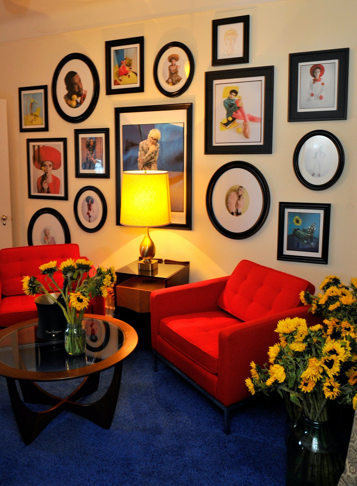 """Photos from the """"Best Performances"""" portfolio on display at the Chateau Marmont"""