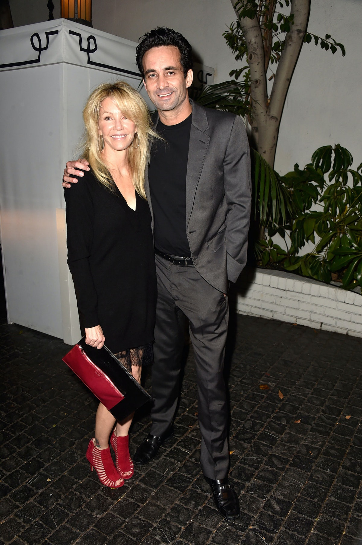 Heather Locklear and Larry Porush