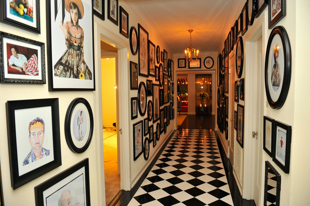 Inside the party at the Chateau Marmont