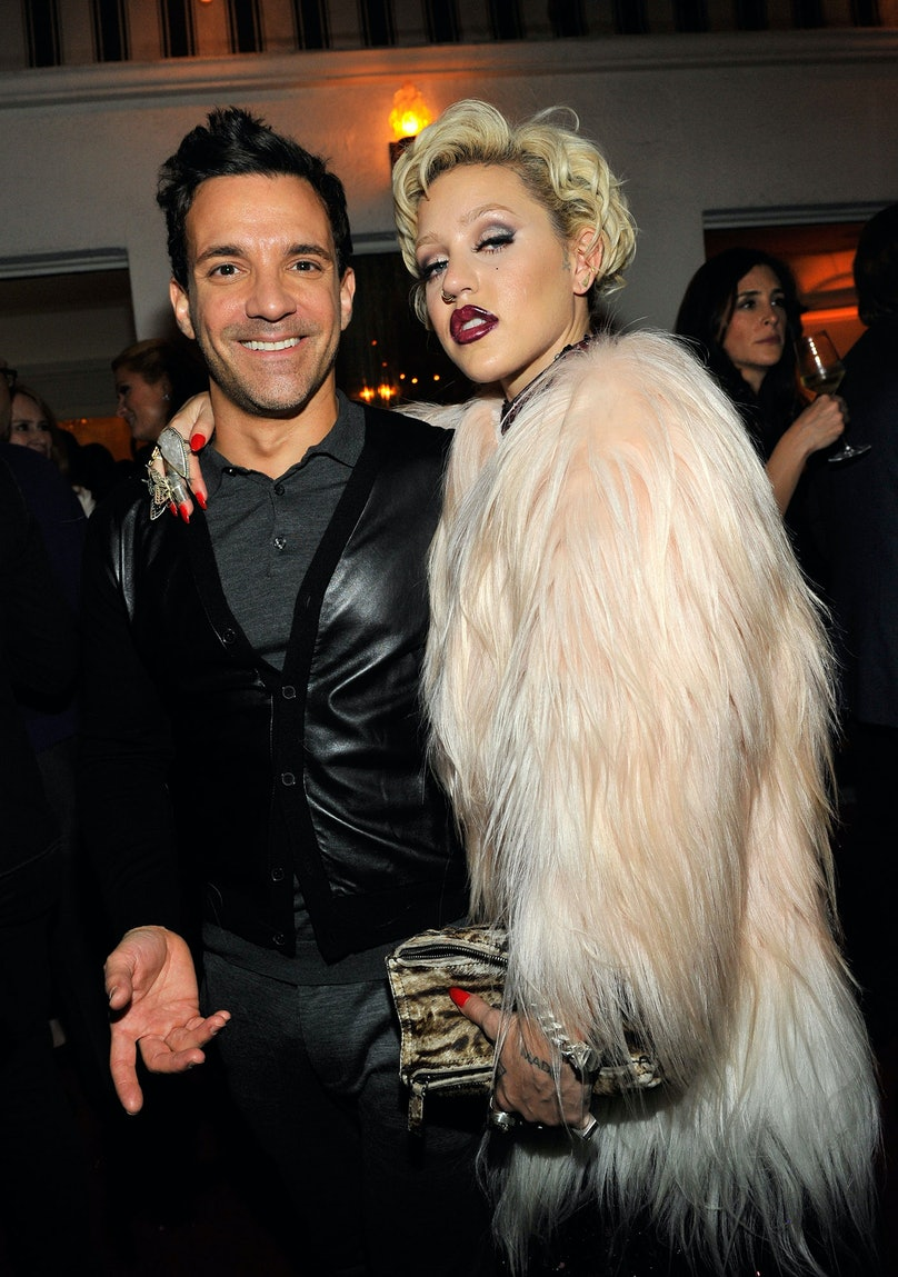 George Kotsiopoulos and Brooke Candy