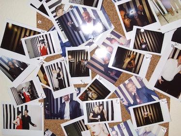 Polaroids Golden Globe Awards