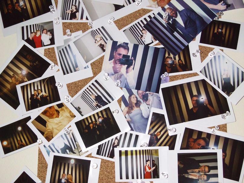 Polaroids Golden Globes