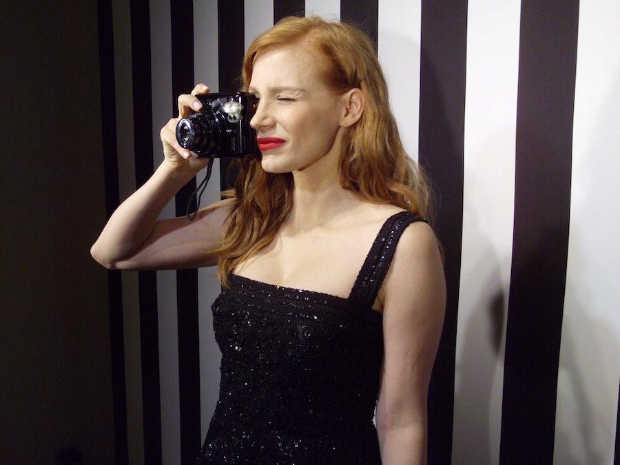 Jessica Chastain Selfie