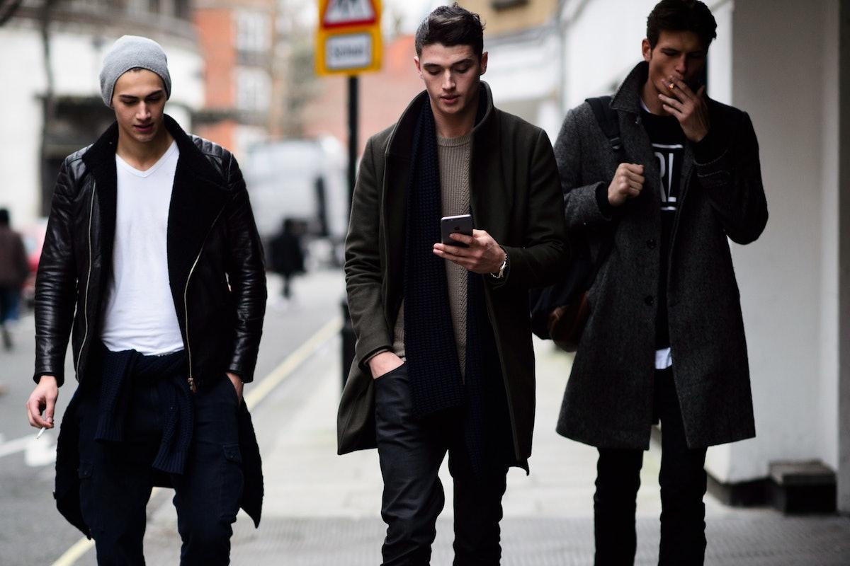 London Men's Fashion Week Fall 2015 Street Style