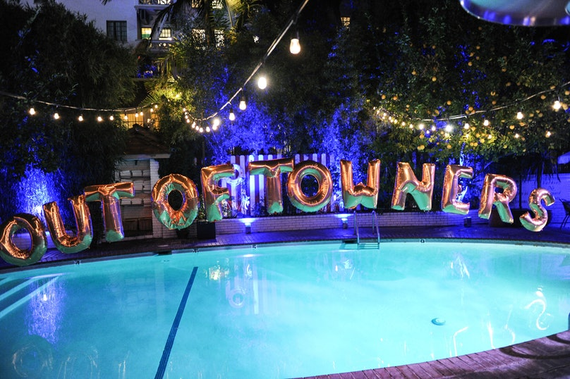 Inside the Out of Towners Dinner at the Chateau Marmont, hosted by Charles Finch and Mulberry