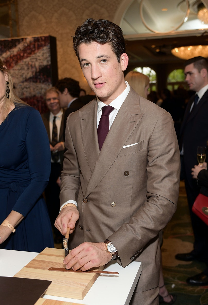 Miles Teller attends the BAFTA Los Angeles Tea Party