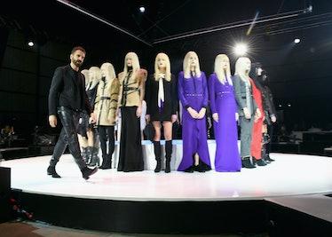 Ennio Capasa and models onstage during the Art of Elysium and Samsung Galaxy present Marina Abramovi...