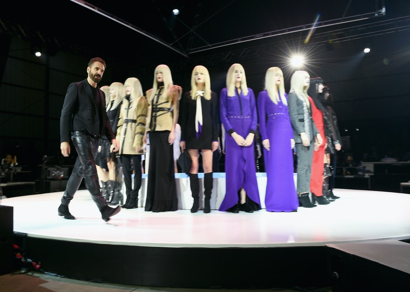 Ennio Capasa and models onstage during the Art of Elysium and Samsung Galaxy present Marina Abramovic's HEAVEN
