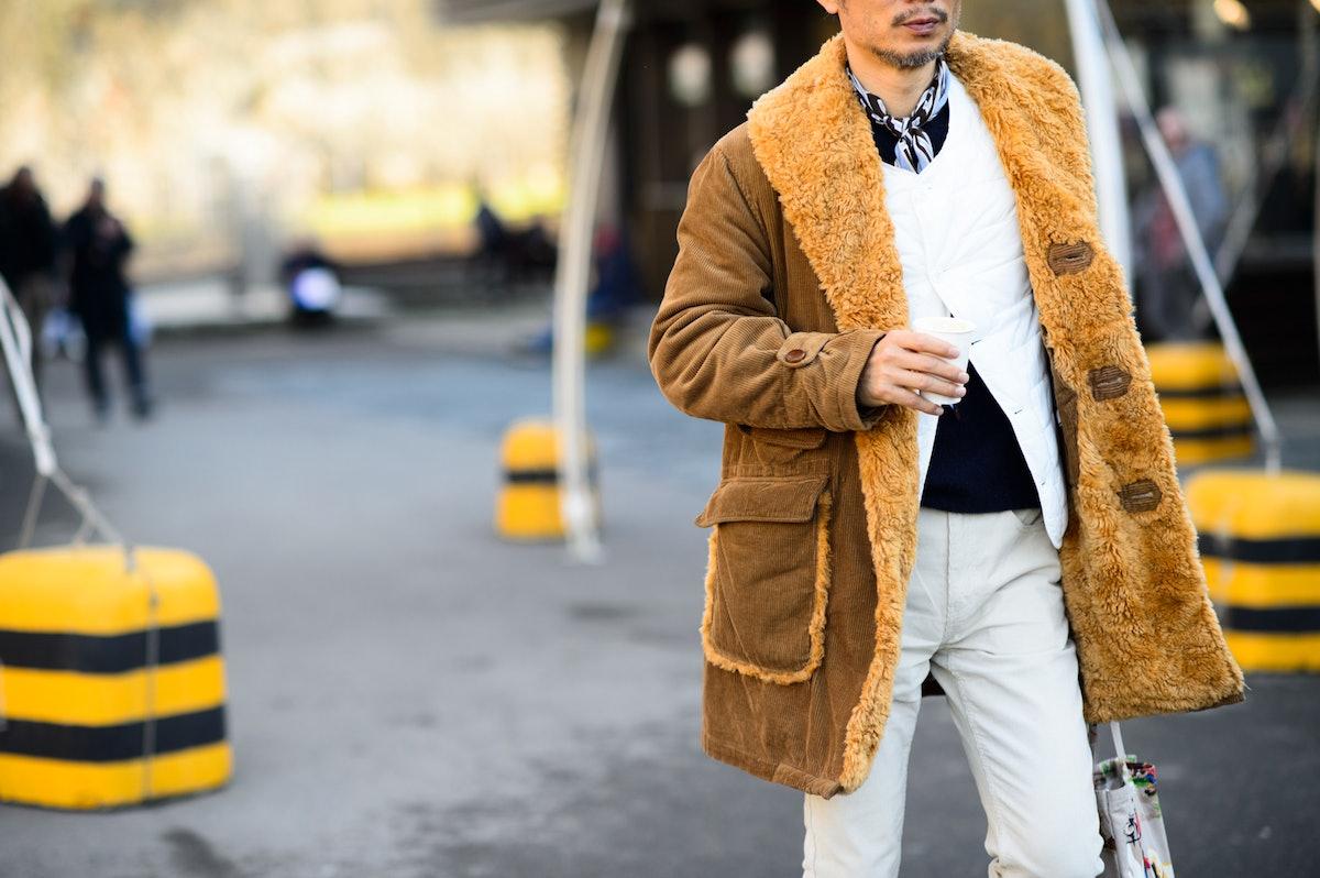Pitti Uomo Fall 2015 Street Style Day 3