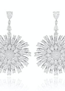 Chopard 18k gold and diamond earrings