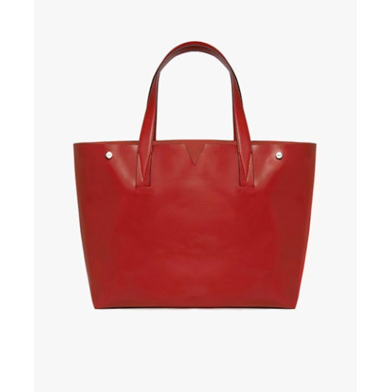Vince leather tote bag