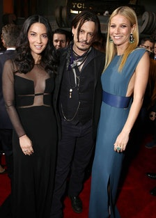 Olivia Munn, Johnny Depp, and Gwyneth Paltrow