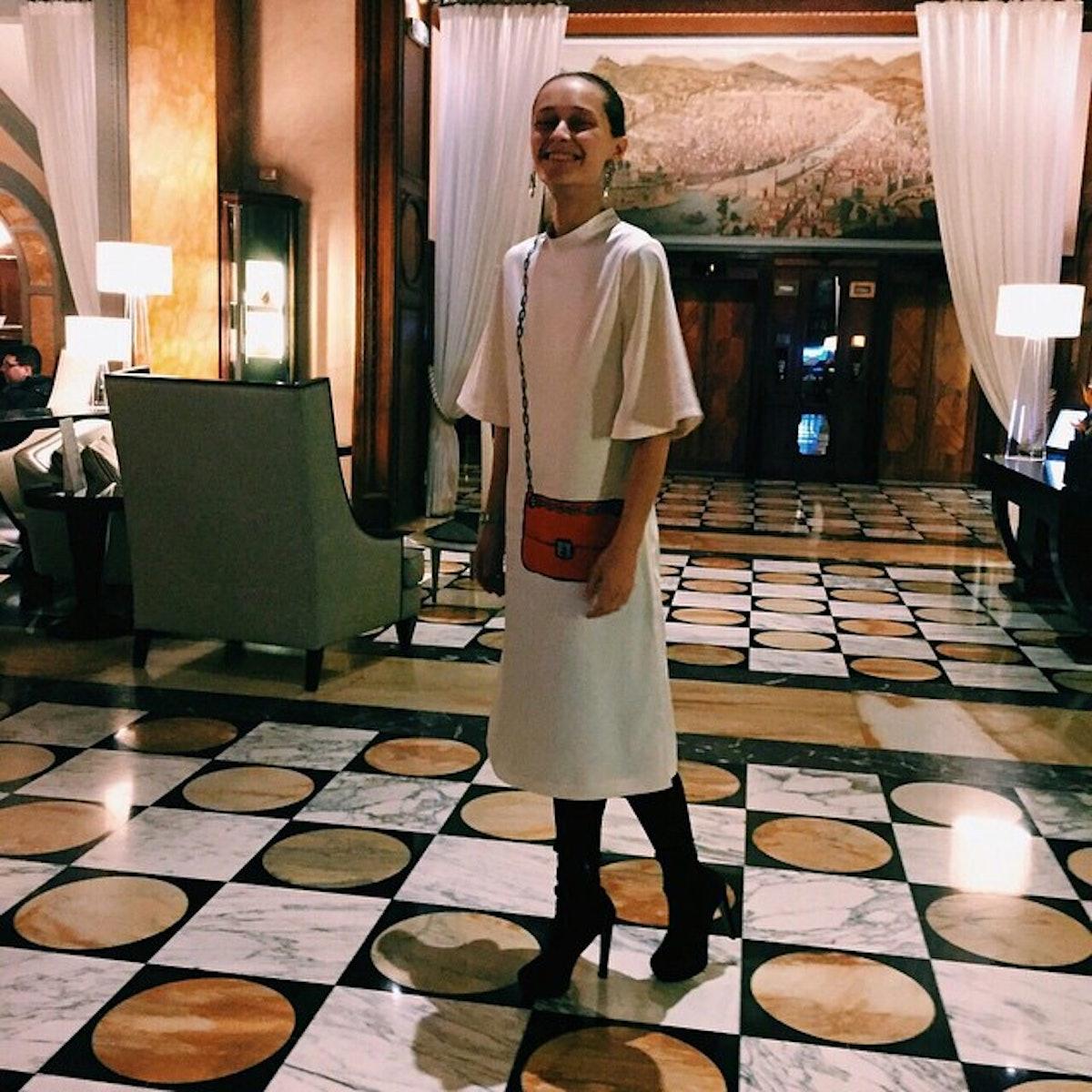 Daria Shapovalova of The Swans