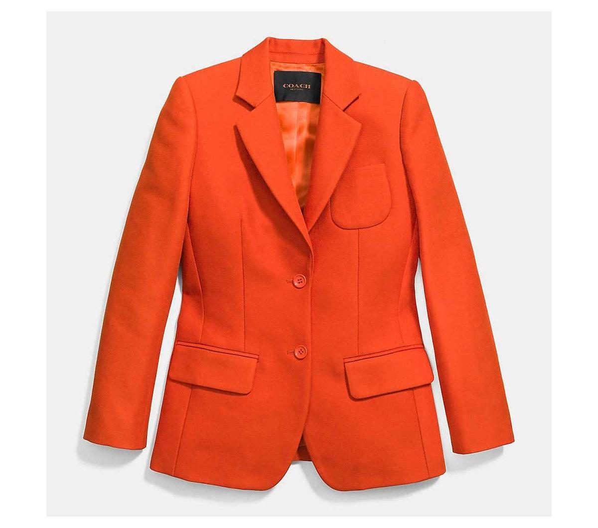 Coach suit jacket