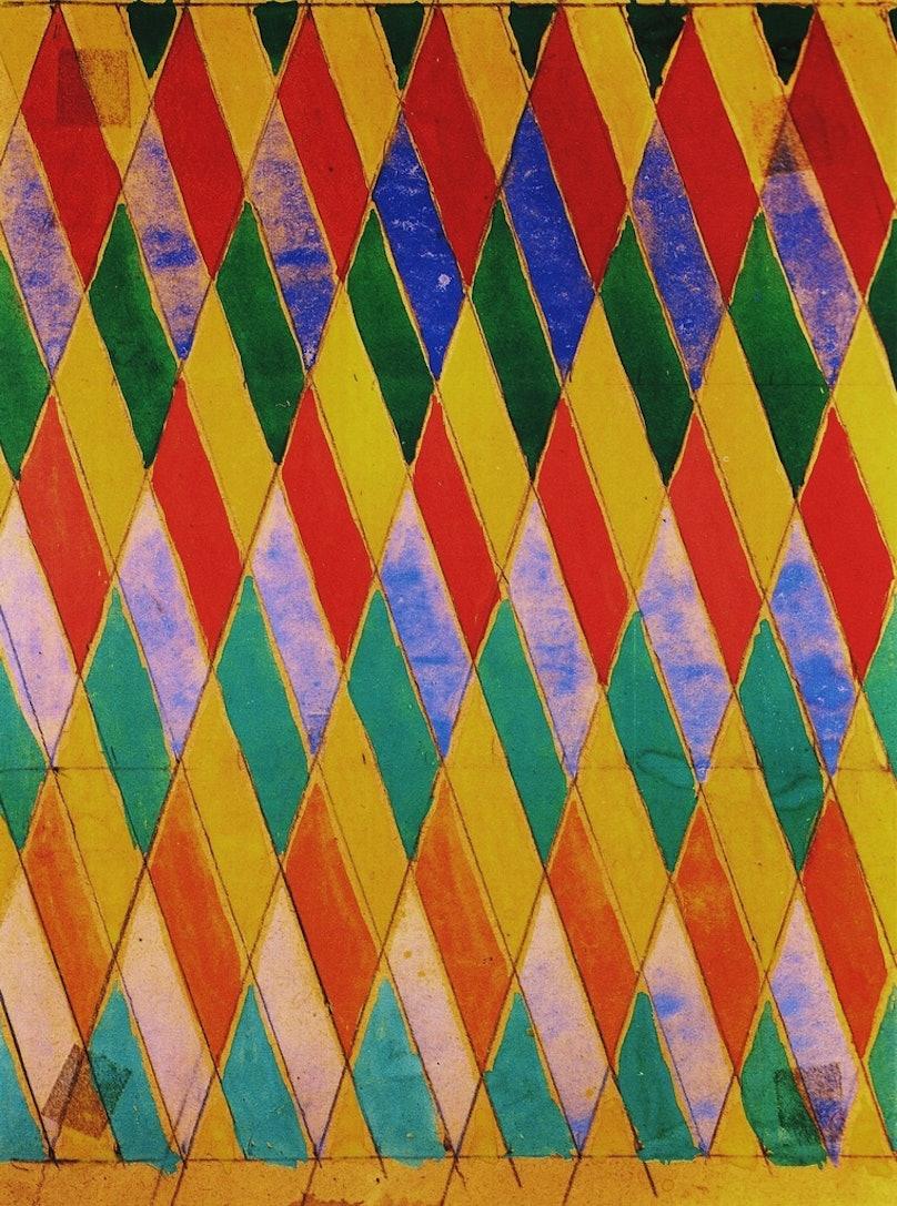 Giacomo Balla's Iridescent Compenetration
