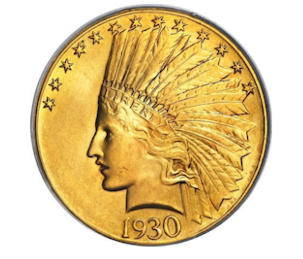 Indian-head gold coin