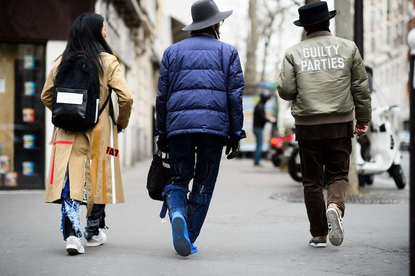 Paris Men's Fashion Week Fall 2015 Street Style Day 1