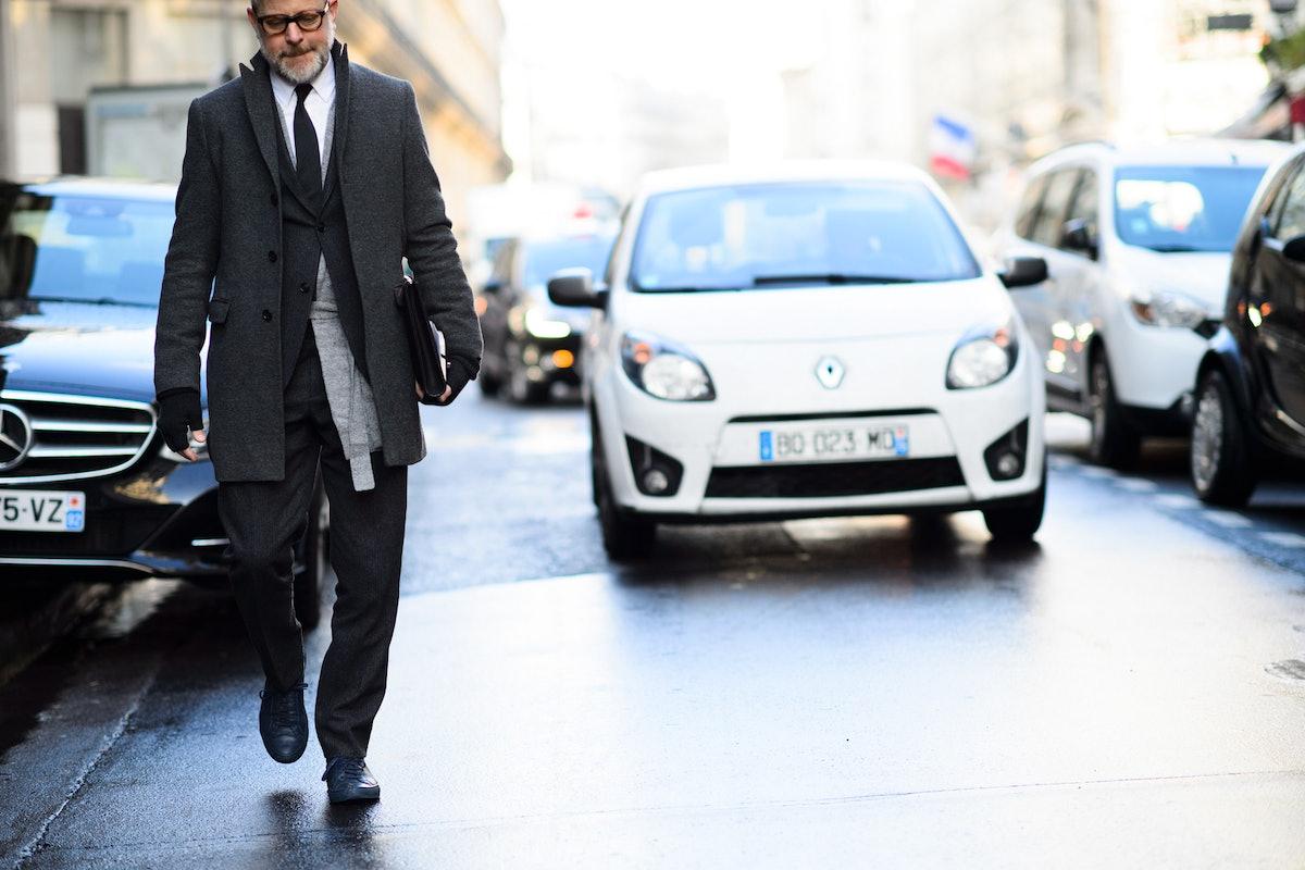 Paris Men's Fashion Week Fall 2015 Street Style Day 4